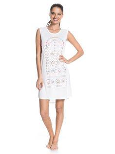 roxy, Love & Happiness Dress, Bright White (wbb0)