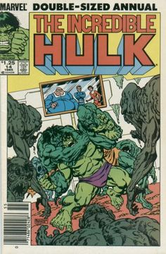 Incredible Hulk Annual # 14 by Sal Buscema & John Byrne