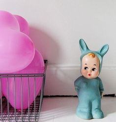 Green Baby Lapin Lamp