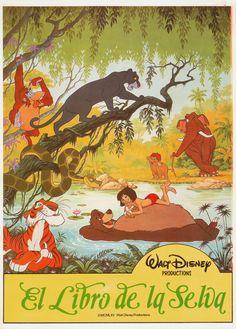 The jungle book full movie 1967 disney english