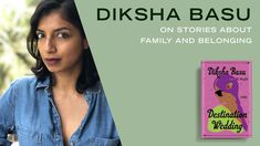 Diksha Basu, author of DESTINATION WEDDING, discusses how she creates her characters, the joy of writing lavish Indian weddings, and what it's like splitting her time between New York City and Mumbai. Random House, Indian Weddings, Mumbai, Authors, Destination Wedding, Writer, It Cast, Characters, Events