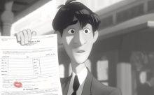 Disney's 'Paperman' : 2013 Academy Award Winner For Best Animated Short Film