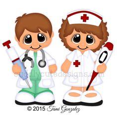 Career Cuties - Doctor/Nurse