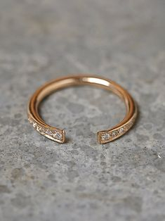 Zoe Chicco Rising Diamond Ring at Free People Clothing Boutique