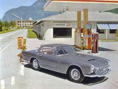 1958, Jaguar XK 150 dessinée par Pietro Frua puis construite par Ghia Aigle.