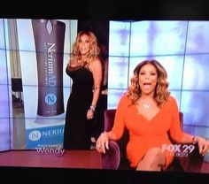 """Wendy Williams from """"The View"""" turned 50 and gave everyone at her party a bottle of Nerium."""