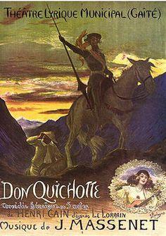 old don quijote de la mancha poster