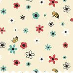 Connecting Threads Bee fabric collection