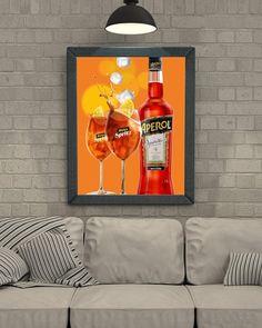Vintage posters aperol spritz poster wall decor print home decor printable prints art print