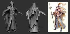 ArtStation - Medieval Knight, Stefano Bernardi