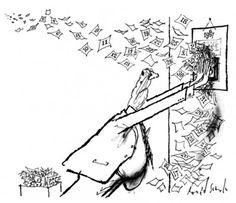 Hand vs. Head: The Cartoon Genius of Ronald Searle - The New Yorker