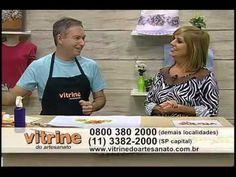 Pintura Adesivada Frutas com Luis Moreira - Vitrine do Artesanato na TV.