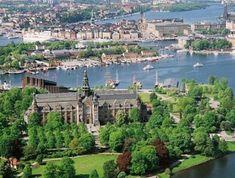 Ferienhaus in Schweden - Stockholm Djurgården, Sehenswürdigkeiten von Stockholm