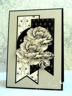 Stampin' Up! Stippled Blossoms | SU Timeless Elegance designer paper |