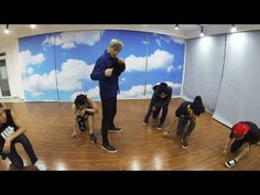 EXO_으르렁 (Growl)_Dance Only (Korean ver.) OMG! Kai is SO cute at the end!!! They're all cute but that was the cutest moment ㅋㅋㅋ!