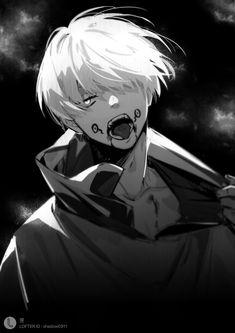 Cool Anime Guys, Hot Anime Boy, Anime Art Girl, Manga Art, Manga Anime, Hottest Anime Characters, Arte Cyberpunk, Anime Lindo, Image Manga