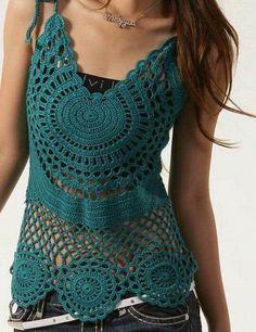 Fabulous Crochet a Little Black Crochet Dress Ideas. Georgeous Crochet a Little Black Crochet Dress Ideas. Crochet Woman, Love Crochet, Irish Crochet, Beautiful Crochet, Crochet Lace, Crochet Gratis, Crochet Bodycon Dresses, Black Crochet Dress, Crochet Tank Tops