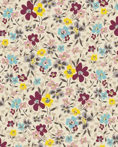 Twiggy Ditsy Floral by Marisa Hopkins | marisahopkins.com