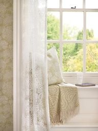 cozy window sill