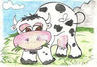 Paka, la vaca. Cuento para trabajar el enfado.
