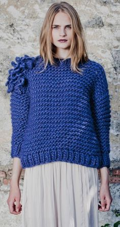 knit sweater from Pakamera.pl