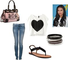 Casual Heart, created by emma-lee97 on Polyvore