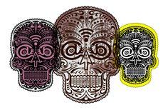 #skull digitalic vector