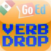 App name: Spanish Verb Drop. Price: $0.99. Category: . Updated:  Oct 22, 2011. Current Version:  1.0. Size: 7.60 MB. Language: . Seller: . Requirements: Compatible with iPhone, iPod touch, and iPad. Requires iOS 3.0 or later. Description: Brought to you by GoEd Online.  Learn and reinforce Spanish ve  rb conjugations with Spanish V  erb Drop. Spanish verbs will a  ppear in blocks on the screen.    .