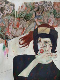 acrylic pencils / paper  artist: Alexandra Levasseur