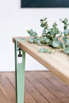 TIPTOE Modular Table Leg - Desks and Tables - Create unique furniture with our clamping system #homedecorideas
