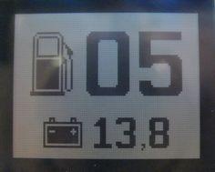 Цифровой измеритель остатка топлива и напряжения АКБ для автомобиля (ATMega8 и дисплей от Nokia 1110i)