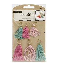 Crate Paper Maggie Holmes Confetti Tassels 1.75'' To 2.5''