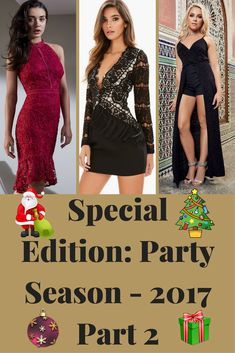 As promised, here is part 2 of the party season - 2017 collection 🎄✨ - http://www.stylebankbyb.com/fashion/special-edition-party-season-2017-part-2