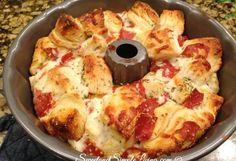 Dit pizza-brood die je uit elkaar kunt trekken is echt HEMELS & binnen een…
