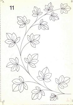 Embroidery Transfers, Hand Embroidery Stitches, Crewel Embroidery, Hand Embroidery Designs, Vintage Embroidery, Beaded Embroidery, Painting Patterns, Fabric Painting, Embroidery Flowers Pattern