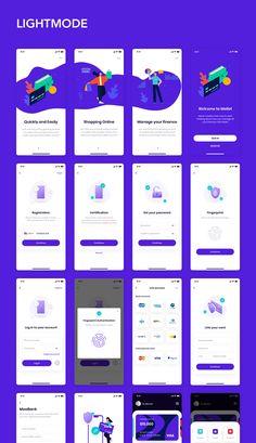 MOLLET - Wallet app UI Kit Wallet app UI Kit - Darkmode & Lightmode #Paid, #Wallet, #PAID, #MOLLET, #app, #Kit Web Design, App Ui Design, Interface Design, Android App Design, Iphone App Design, Ui Kit, Ui Design Principles, App Design Inspiration, Mobile Ui Design