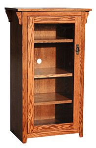 Our American Mission Oak Collection is a beautiful example of traditional Mission furniture showcasing clean lines and a full-grain expression. This beautiful Tall Stereo Cabinet features three adjustable shelves behind a large glass door. Mission Furniture, Home Decor Furniture, Cheap Furniture, Rustic Furniture, Stereo Cabinet, Mexican Furniture, Southwestern Home, Mission Oak, Living Room Cabinets