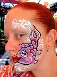 face painting Lisa Joy Young   face painting ideas