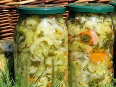 Sałatka z ogórków na kolorowo - zdjęcie 2 Pickles, Cucumber, Shrimp, Chicken, Meat, Food, Essen, Meals, Pickle