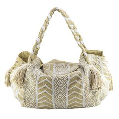 Maja Bag - perfect overnight bag or beach bag. Oversized bag with beading  detail available at www.seasonsemporium.com 154c6af6eb449