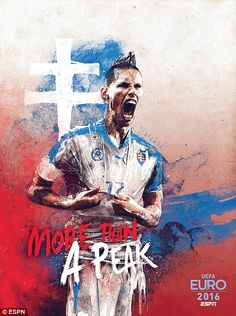 Napoli winger Marek Hamsik will be the star name for Slovakia in Group B
