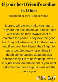 Libra- Get To Know Why You Can't Do Without Your Bestie By Decoding Her Zodiac