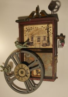 Timeless Series - Kathy Moore Assemblage Artist