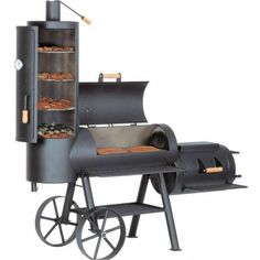 BBQ Smoker - Check out large selection of BBQ tools and accessories at TexasBBQNinja.com