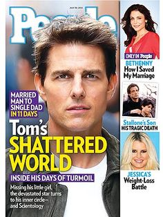 ON NEWSSTANDS 7/20/12: Tom's Shattered World: Inside His Days of Turmoil. Plus: How Bethenny saved her marriage, Sylvester Stallone's son's tragic death and more