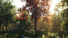 ArtStation - Tree in the Forest, Blake Mead