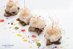 Gnocchi di Gamberi, salsa ai Funghi misti, ricetta inserita da Ciro Salatiello