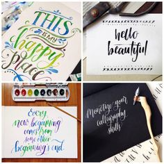 Pauline A. Ibarra is the calligrapher and letterer behind Happy Hands Project. She was first introduced to the art of dipping pens in ink when she was completing her Fine Arts degree. She was re-introduced to ...