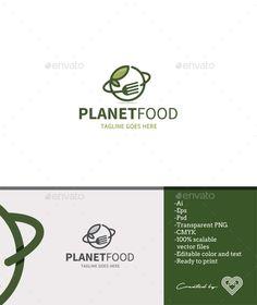 Planet Food - Food Logo Templates Download here : https://graphicriver.net/item/planet-food/18622931?s_rank=137&ref=Al-fatih