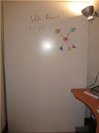 How-to-dirt cheap wall-sized whiteboards Cheap Whiteboard, Cheap Plywood, Dirt Cheap, Classroom Decor, Autism Classroom, School Classroom, My New Room, Diy Projects